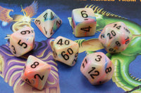 Festive Dice (Circus) RPG Role Playing Game Dice Set