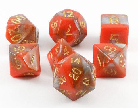 combo attack dice orange brown
