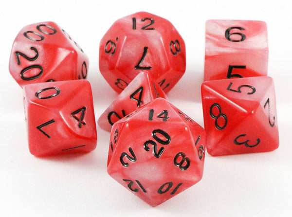 combo attack dice red white