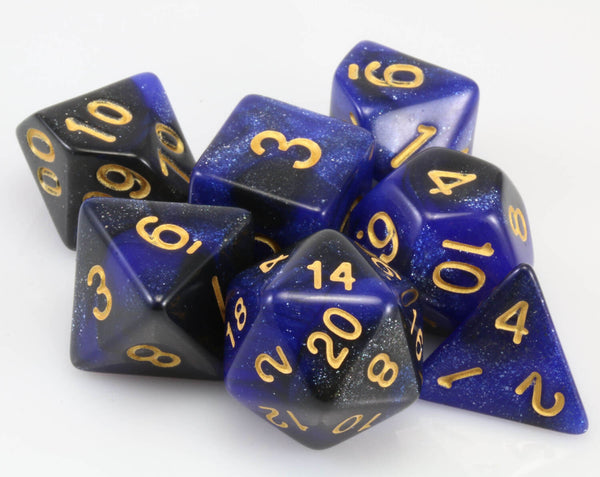 Cosmic dice dark blue