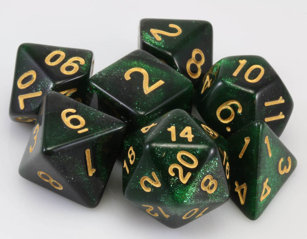 Cosmic Dice Green