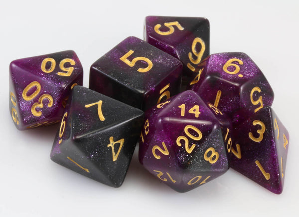 Cosmic Dice Purple