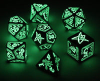 D&D dice glow in the dark