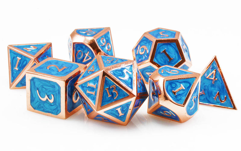 Cool Blue DND Dice