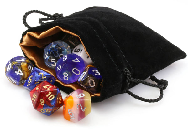 Dragon Gold Dice Bag