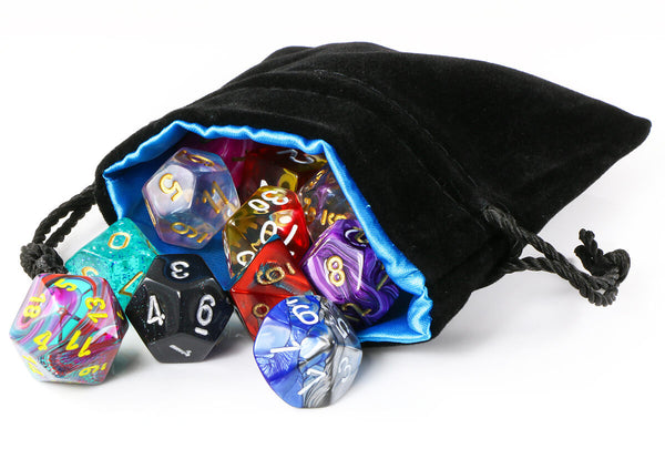 Ocean Blue Dice Bag