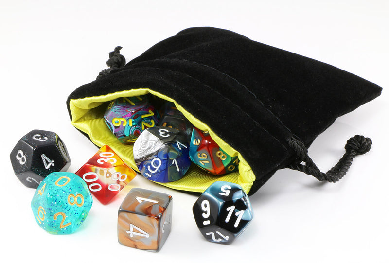 Yellow Dice Bag