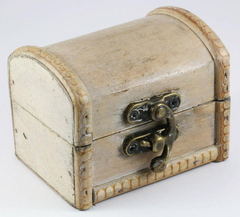 Dice Box Antique Ivory