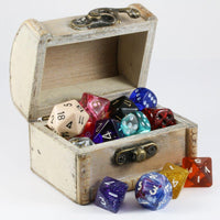 D&D Dice Box Ivory