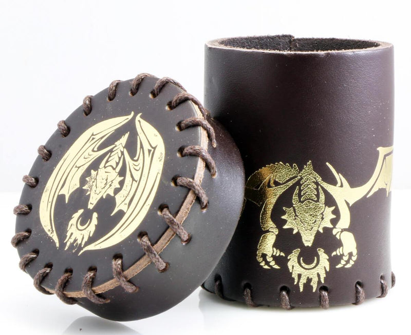 Gold Dragon Dice Cup