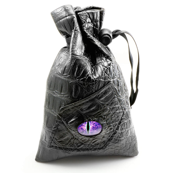 Monster Eye Dice Bag Purple
