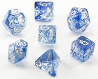Diffusion Dice Blue Ink