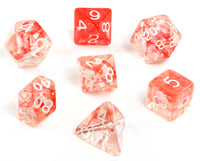 Large D&D Dice Cherry Red