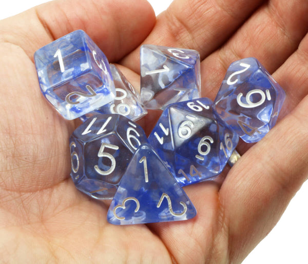 D&D Dice Sapphire Diffusion