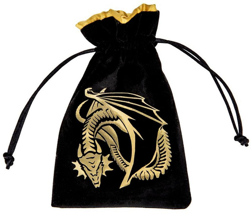 Dragon Dice Bag Black Gold