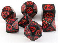 Dragon Dice Black With Red