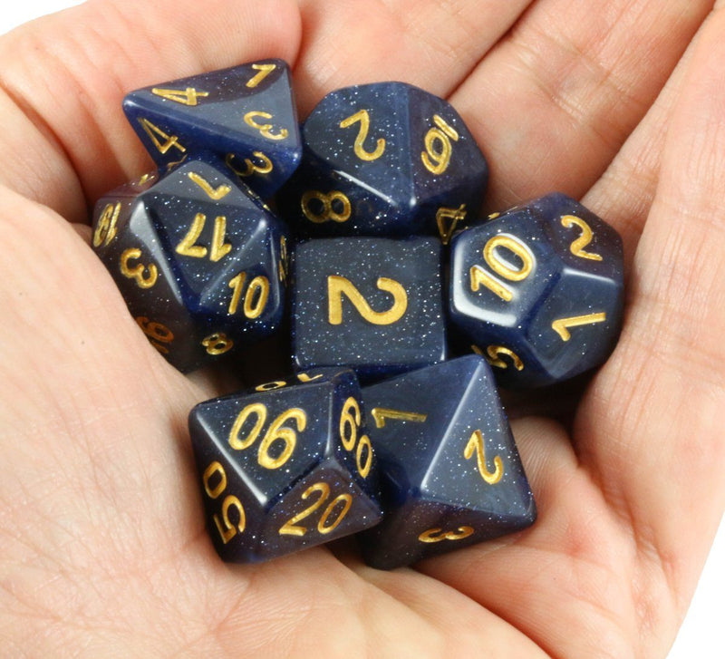 Eclipse Dice Midnight Blue