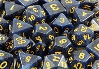 Eclipse Midnight Blue Dice