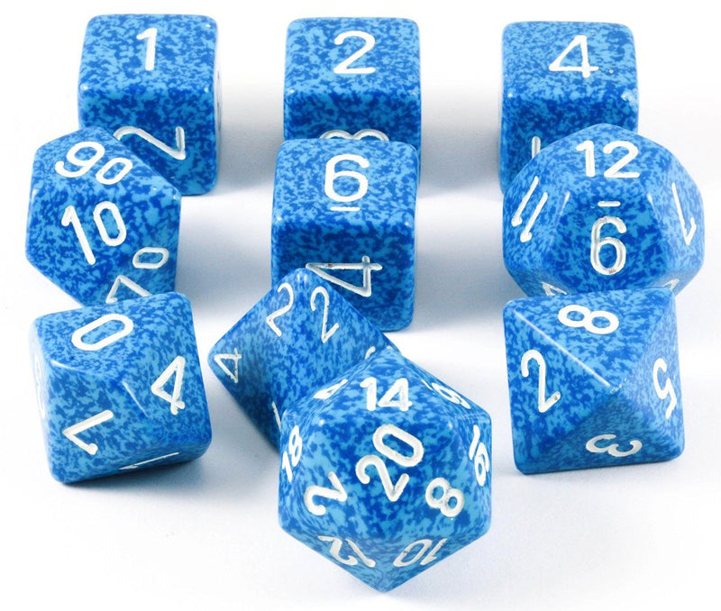 Elemental Water D&D Dice