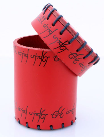 Elfish Dice Cup Red