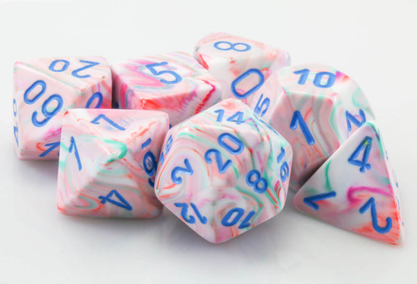 Festive Pop Art Dice