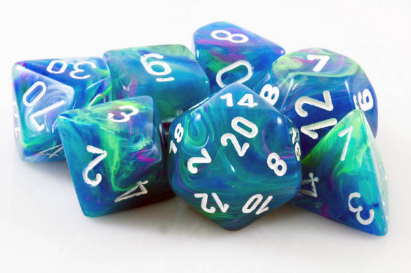 Festive Waterlily Dice