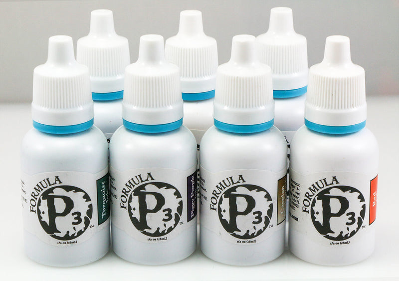 Formula P3 Paints Ink Washes