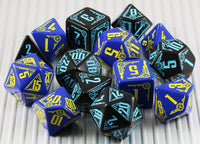 RPG Dice Galactic Science Fiction