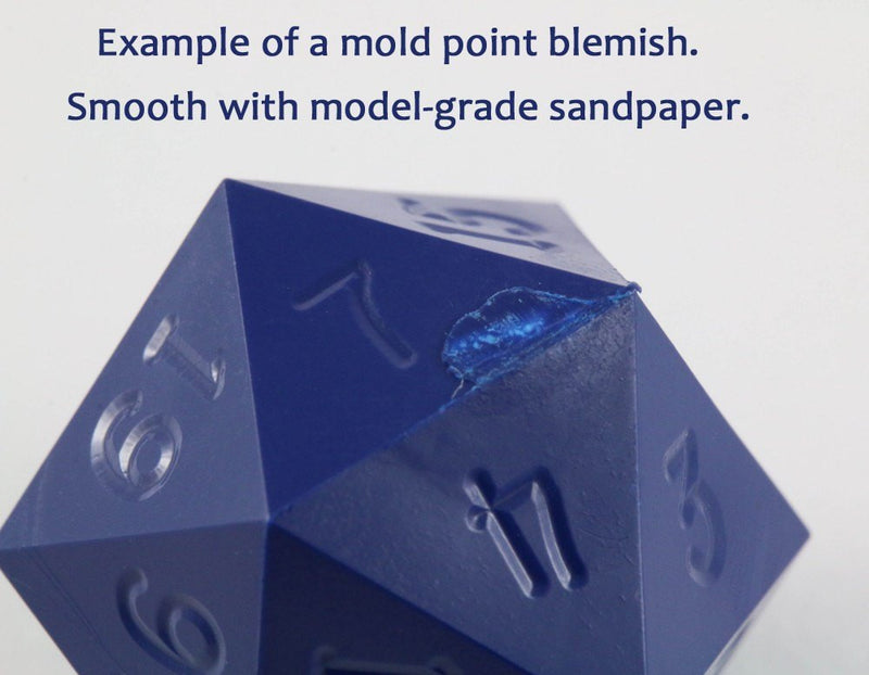 Gamescience Dice Mold Point Blemish