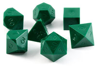 Gamescience dice opaque green