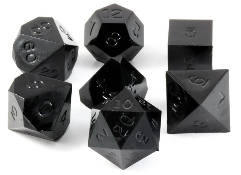 Gamescience Dice Opaque Black