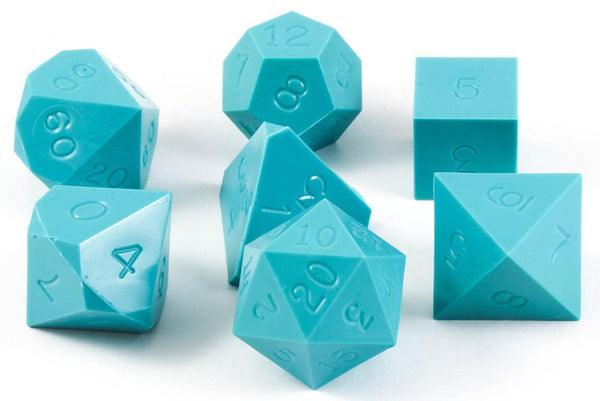 Gamescience Dice Opaque Turquoise