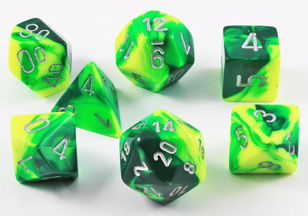Gemini Dice Green Yellow