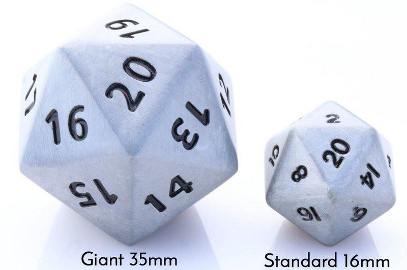 giant metal dice