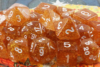 Glitter Dice Yellow