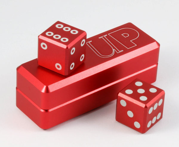 Gravity Dice Crimson d6