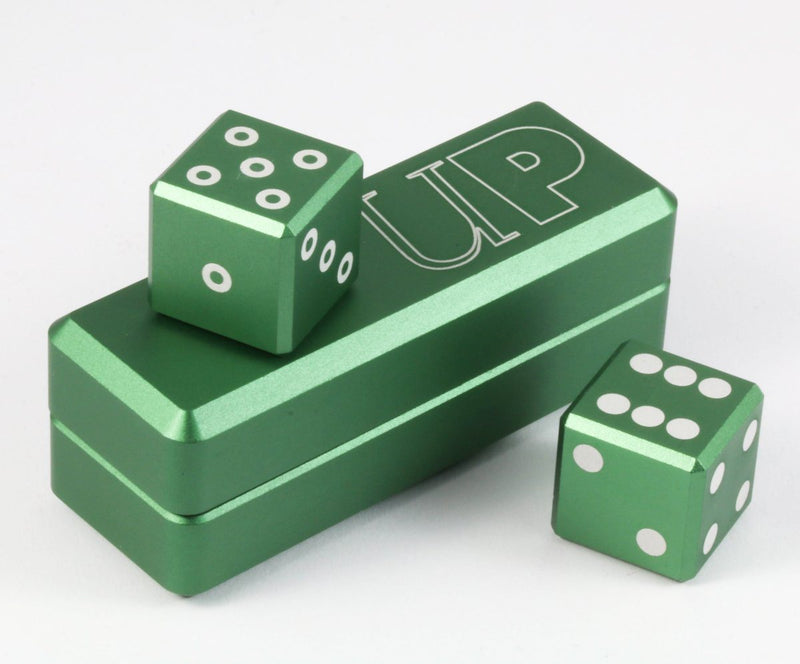 Gravity Dice Emerald d6