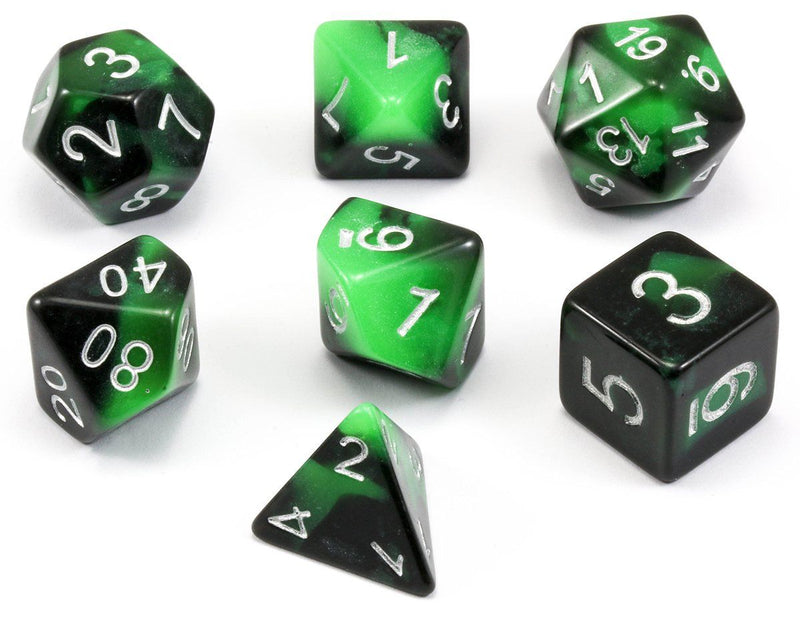 Haunted Dice Green