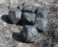 RPG Dice Gray Hi-Tech