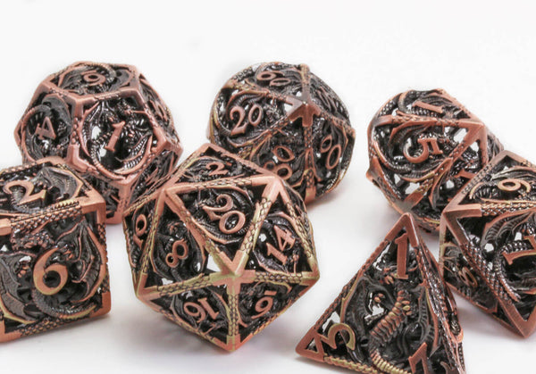 Hollow Copper Dragon Dice