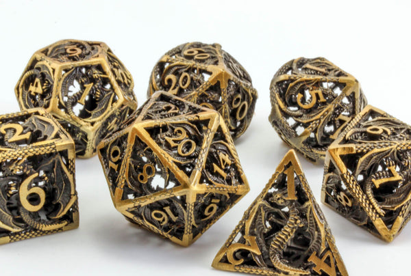 Hollow Dragon Dice for DnD