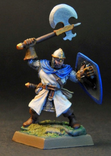 Dark Heaven Legends (Sir Bruce, Fighter With Owl Shield 3392) 25mm Miniatures