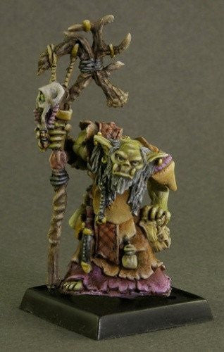 Dark Heaven Legends Orc Shaman 3043 25mm Miniatures