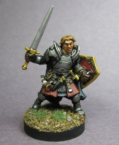 D&D Fighter Miniature