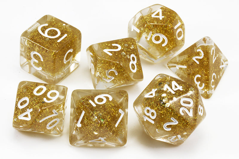 Dragons Gold dnd dice