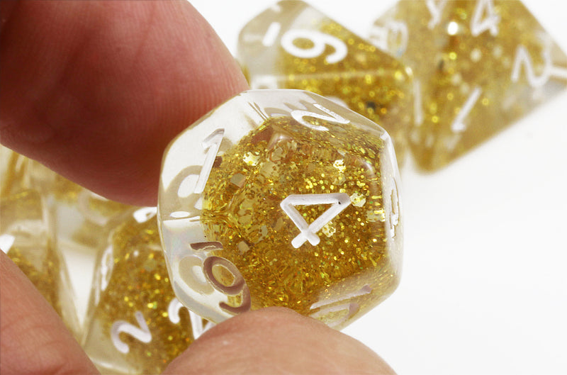 Dragons gold dice