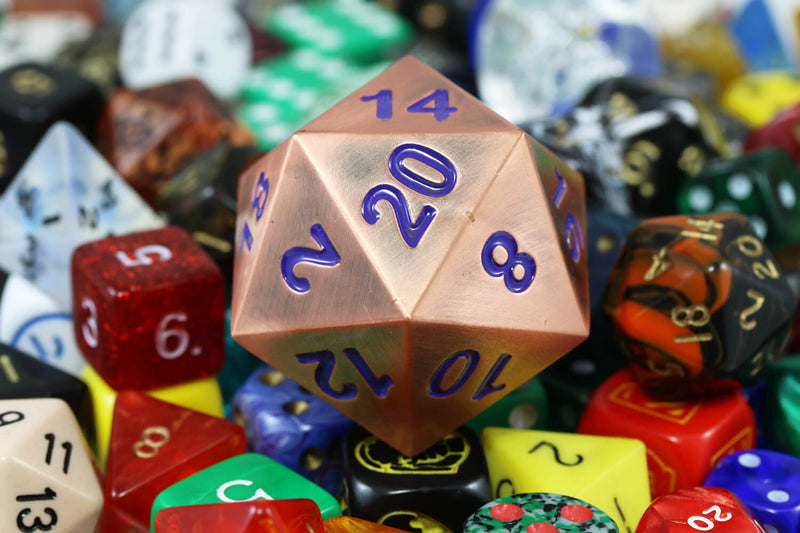 Giant Copper d20
