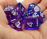 D&D awesome purple dice