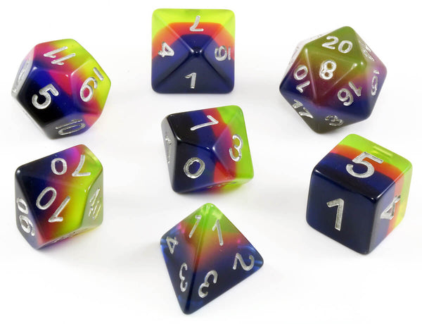 Layered dice gypsy moon