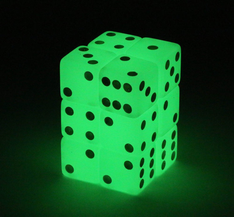 glow in the dark d6 dice